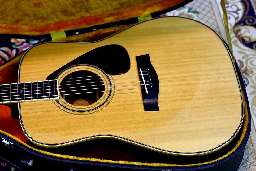Yamaha L5 Gen1 acoustic guitar 1970s.