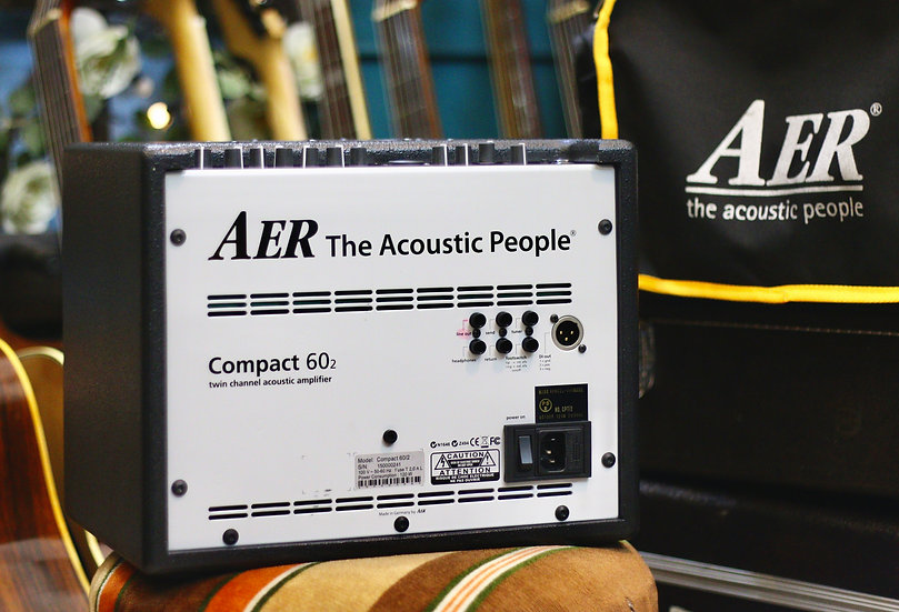 AER Conpact 60/2 acoustic guitar amplifier Made in Germany .