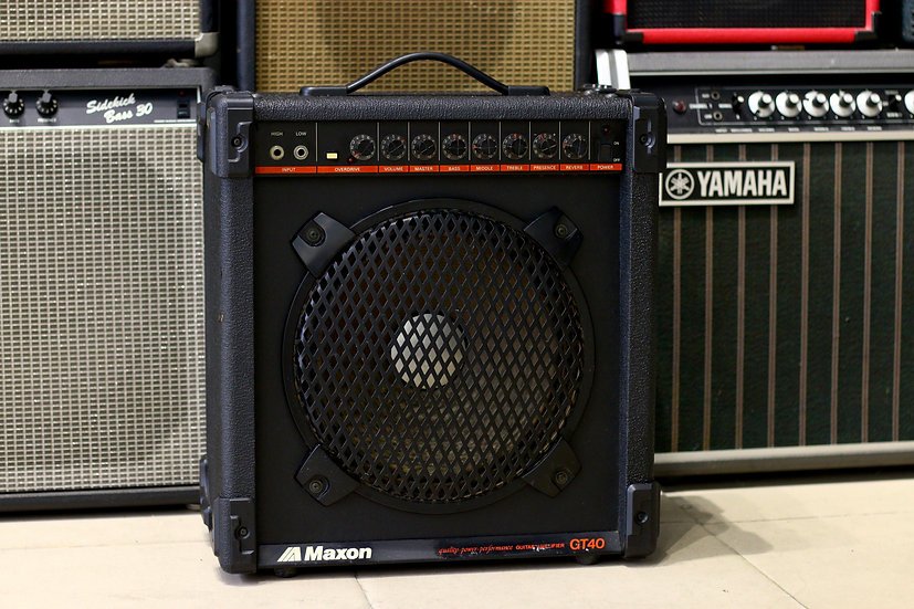 Loa ampli guitar Maxon GT40 Made in Japan 1980s .