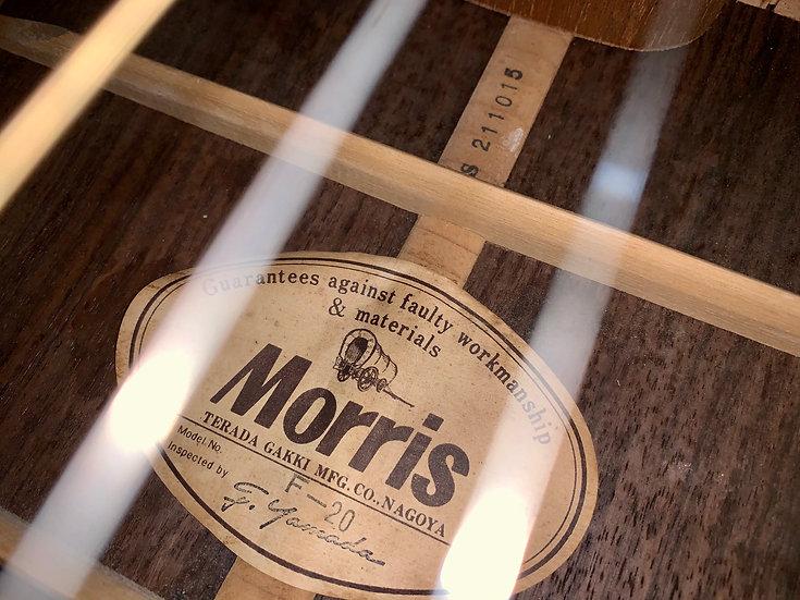 Guitar Morris F20 từ năm 1970s .