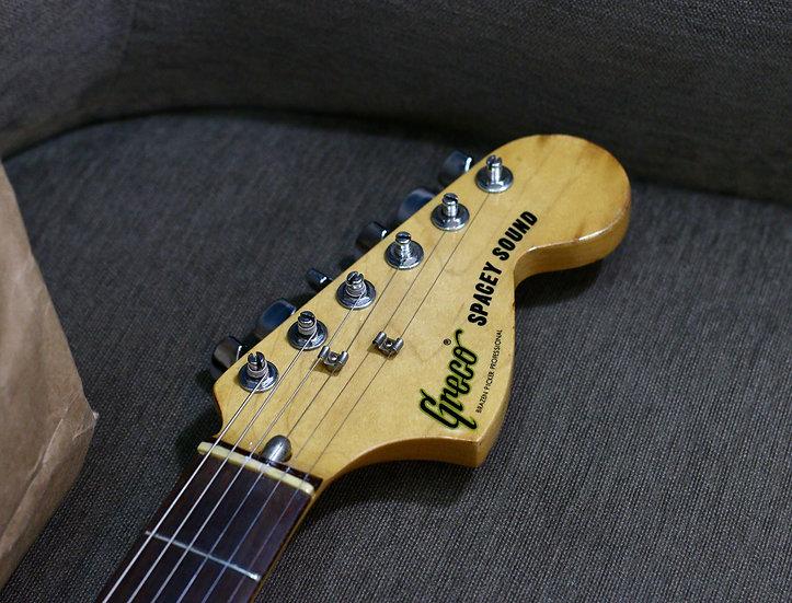 E-Guitar Greco Spacey Sound - The Brazen Picker vintage 1981 .