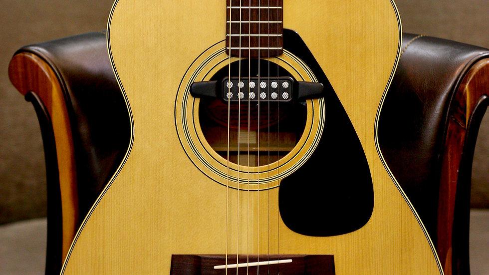 Guitar acoustic Yamaha FG152 MIJ 1970s .