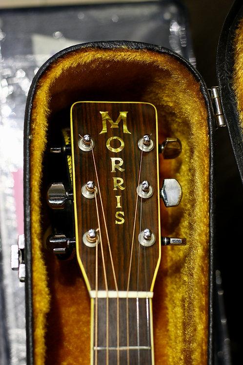 Guitar Morris W60 Special made in Japan 1975 .