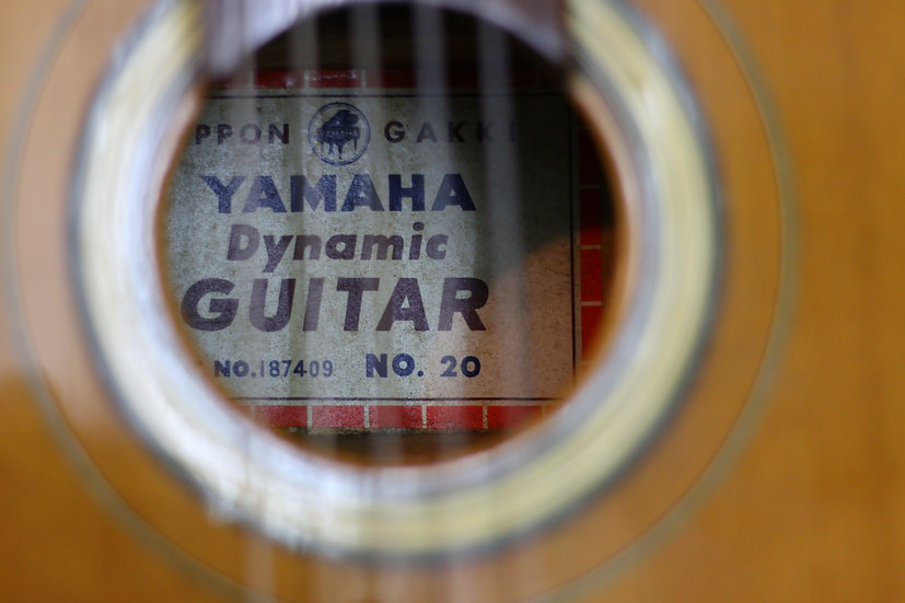 Guitar classic Yamaha_Dynamic_No20 full solid 1960s .