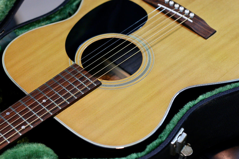 Guitar acoustic thumb F150 by Terada vintage 1970s .