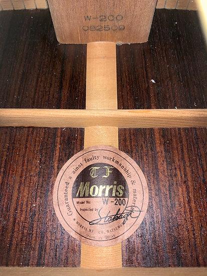 Guitar Morris W200 fullsolid vintage 1979 .