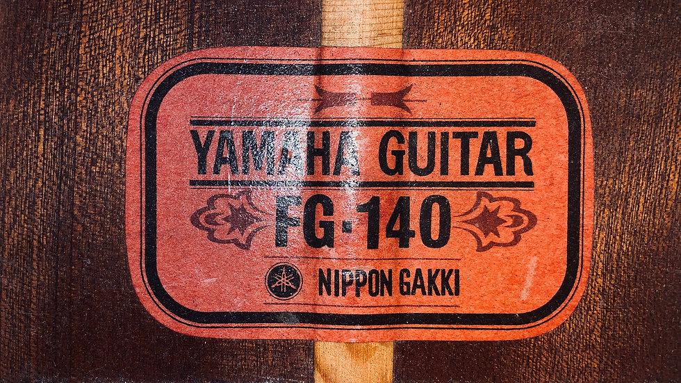 Guitar Yamaha FG140 nội địa Nhật vintage1969