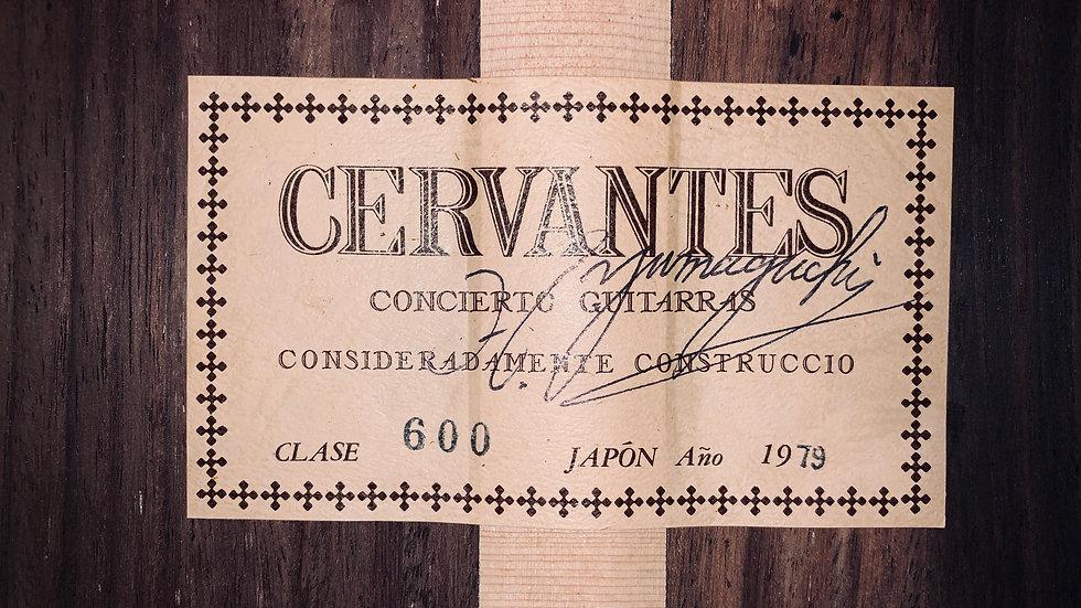 Guitar classic  Cervantes clase 600 by Hiroumi Yamaguchi vintage 1979