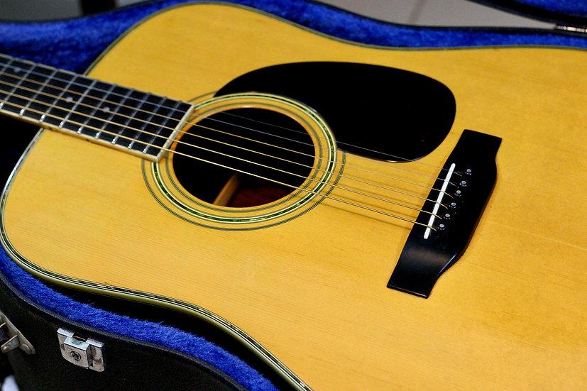 uitar Acoustic MorrisW30 đẹp từ năm 1978 .