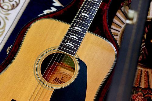 Guitar acoustic Morris WS40E Pickup 1970s.