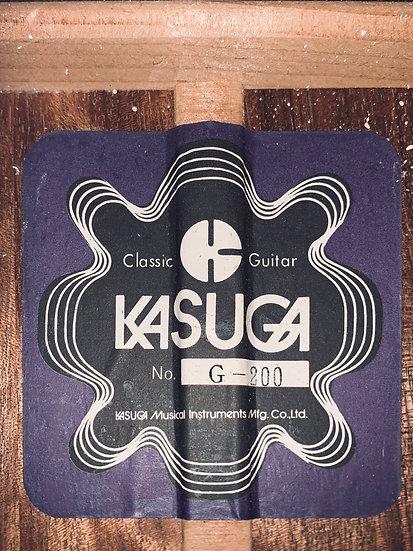 Guitar classic nội địa Nhật Kasuga G200 .