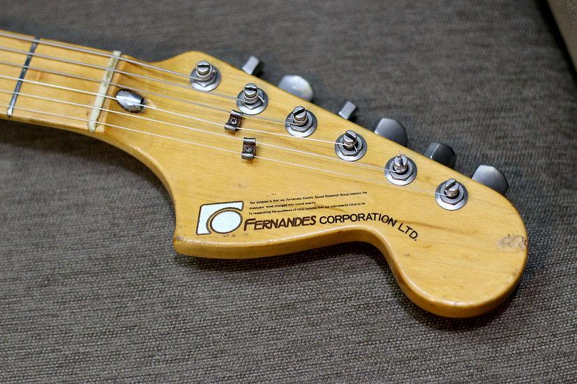 E-Guitar Fernandes FST-50 vintage 1978.