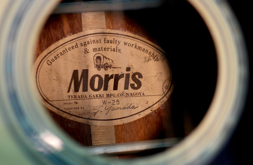 Guitar Morris W25 đẹp từ năm 80s
