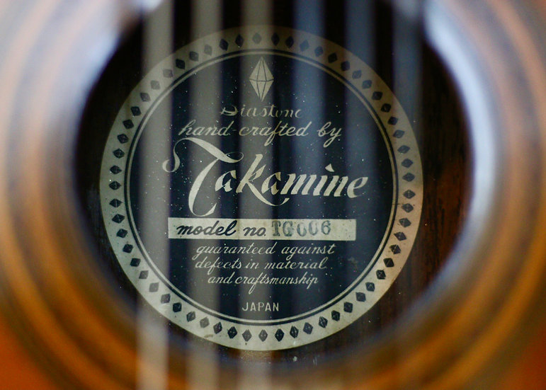 Guitar classic Takamine TG006 Made in Japan 1970s .