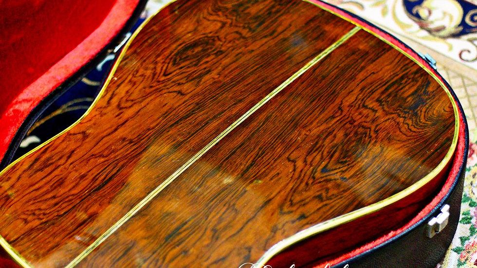 Guitar K.Yairi YW600G  Jacaranda vintage 1973.