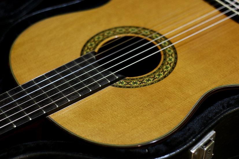 Guitar classic concertMatsuoka M30từ năm 1979 .