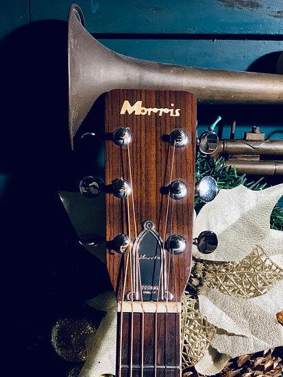 Guitar Nhật Morris W25 từ năm 1972.