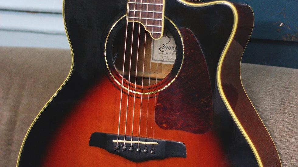 Guitar acoustic S.Yairi SYD43 dáng số 7 + EQ Fishman.
