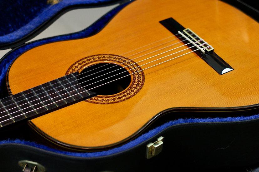 Guitar classic Ryoji Matsuoka M60 tem chữ ký 1980s .