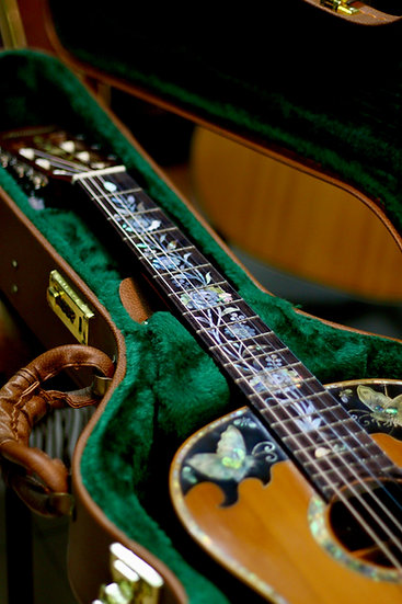 Guitar classic fullsolid Nghệ nhân AntonioTsai inlay Mother of pearl