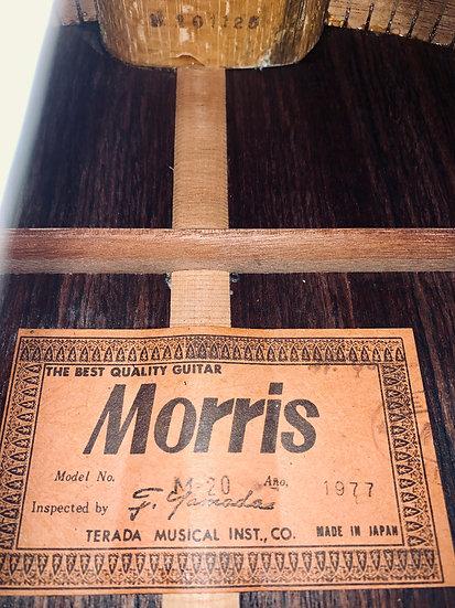 Guitar classic Nhật Morris M20 Vintage 1977
