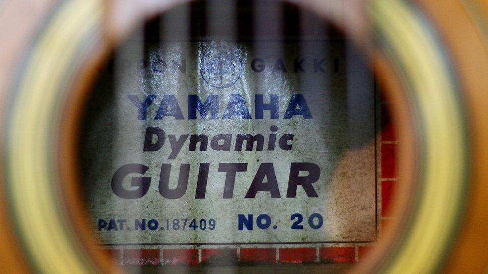 Guitar classic Yamaha Dynamic No.20 fullsolid 1960s .