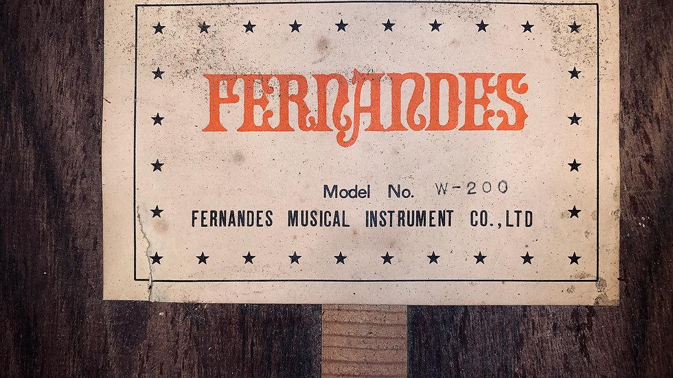 Guitar Nhật Fernandes W20 1976 .