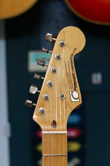 E-Guitar Fernandes FST Stratocaster MIJ 1970s .