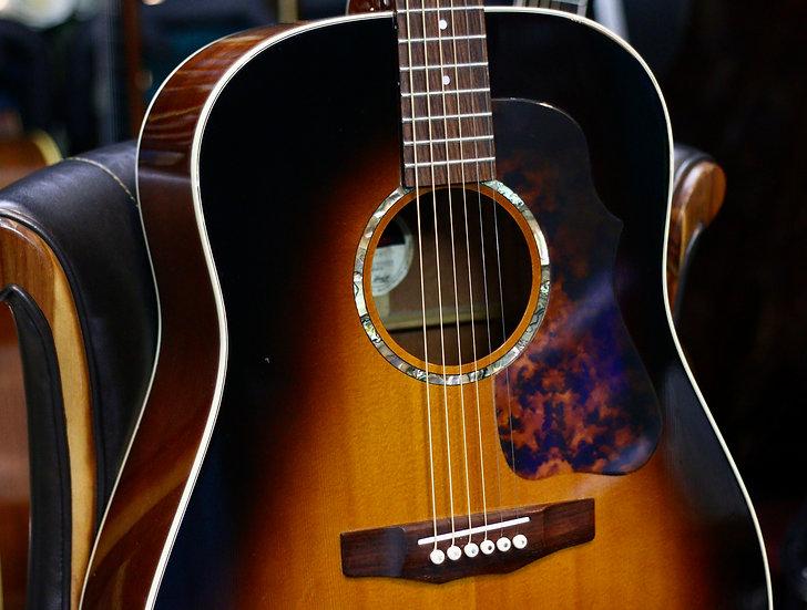 Guitar acoustic Morris G-51 Made in Japan + Pickup