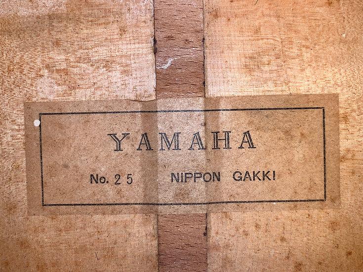 Guitar classic Yamaha No.25 vintage 1960s fullsolid.