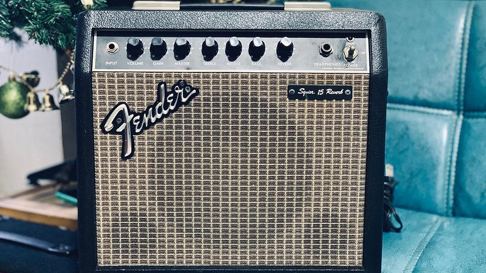 Ampli guitar Fender Japan Squier 15 reverb