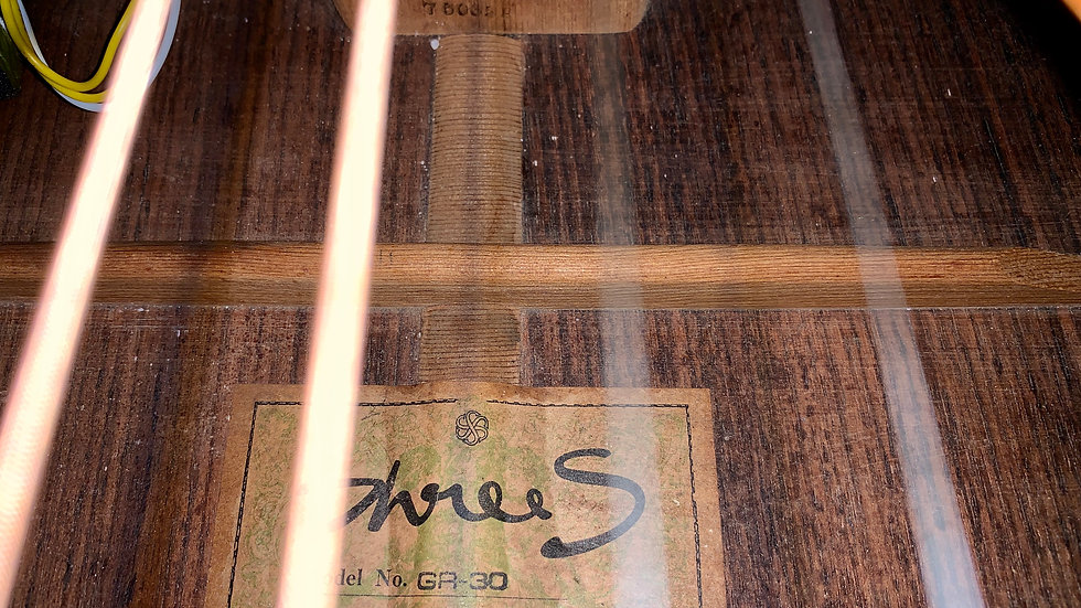 Guitar nhật cũ Suzuki ThreeS GR20 1975.