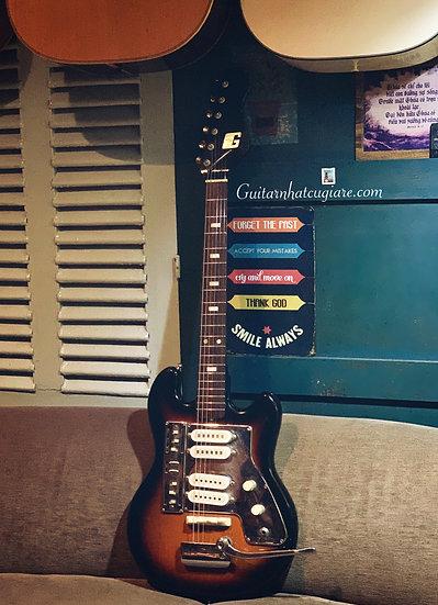 E-Guitar Guyatone LG-140T vintage 1960s .