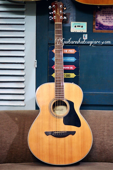 Guitar Acoustic James JF400 top solid .