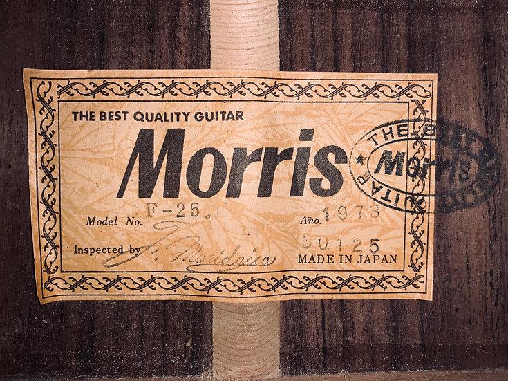 Guitar Nhật cũ Morris F25 vintage 1973