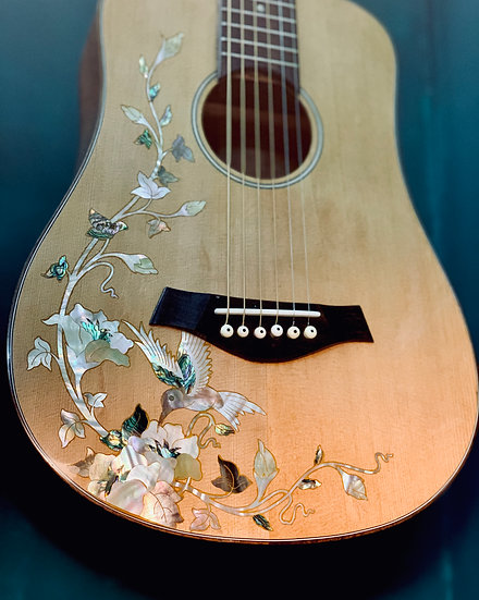 Guitar size 3/4 inlay Mother of pearl