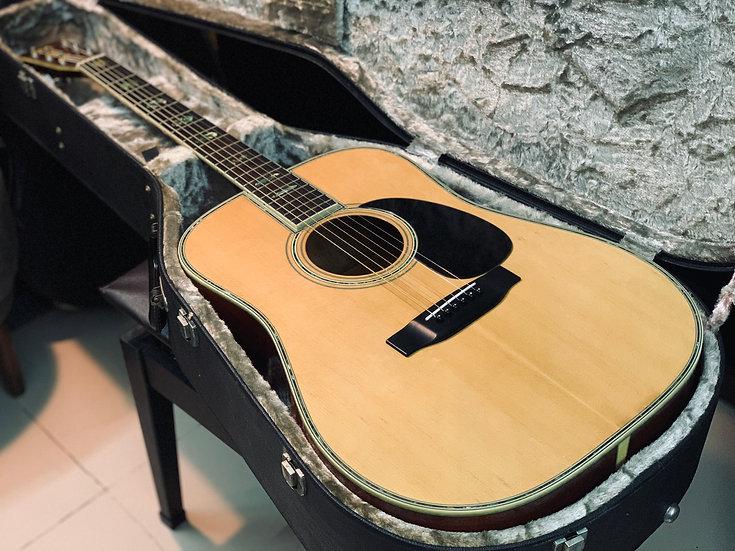 Guitar Nhật cũ Morris_W39M 1980s.