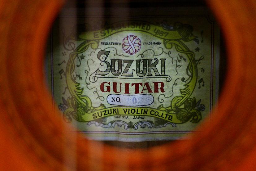 Guitar classic Suzuki Guitar no.702 MIJ 1960s.