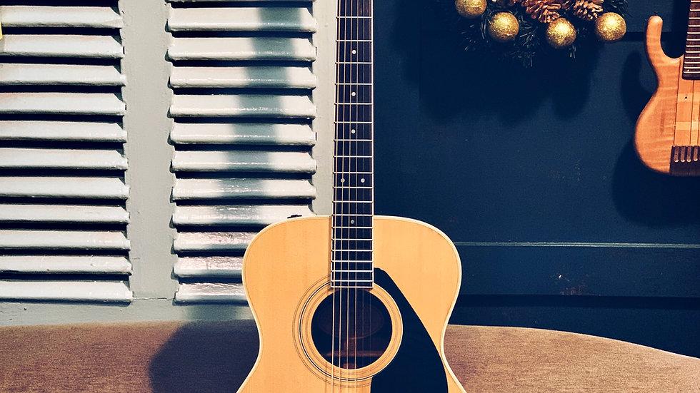 Guitar Yamaha FG252B made in Japan 1978.