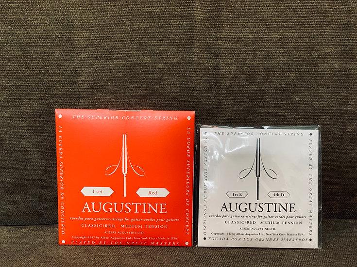 Dây đàn guitar classic Augustine đỏ Medium Tension