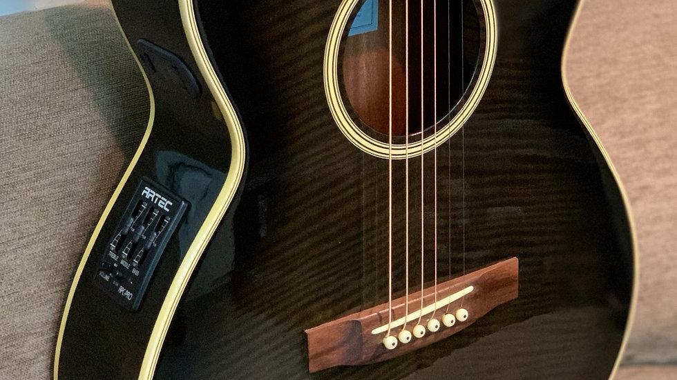 Guitar acoustic Kawai EA45JSTBL + EQ Artec APC Pro