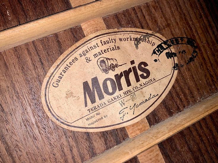 Guitar Morris W30 vintage 1978.