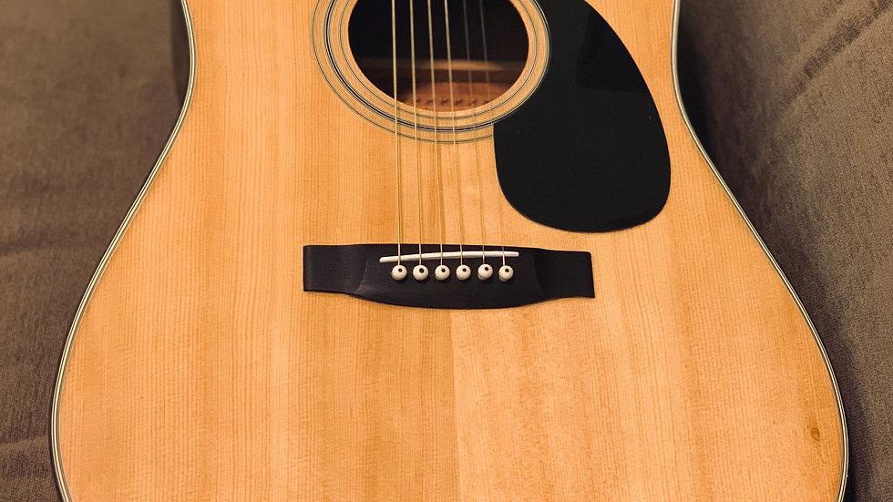 Guitar acoustic Morris W15 vintage 1975