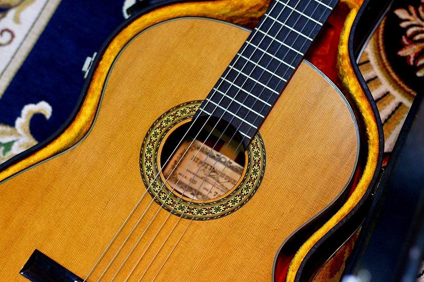 Matsuoka M30 guitar classic Japan 1979.