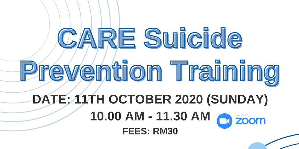 CARE Suicide Prevention Training (FOR GENERAL PUBLIC)