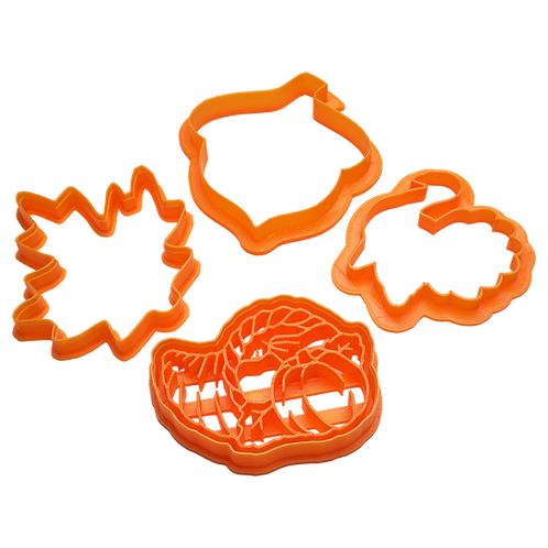 Fall Cookie Cutters | set of 4