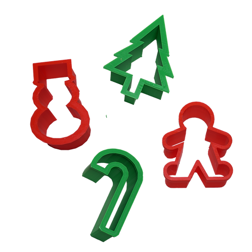 Merry Cookie Cutters (set of 4)