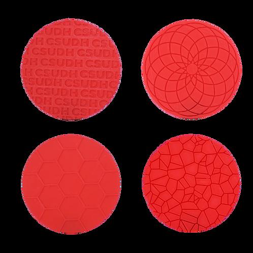 3D Printed Coasters (set of 4)