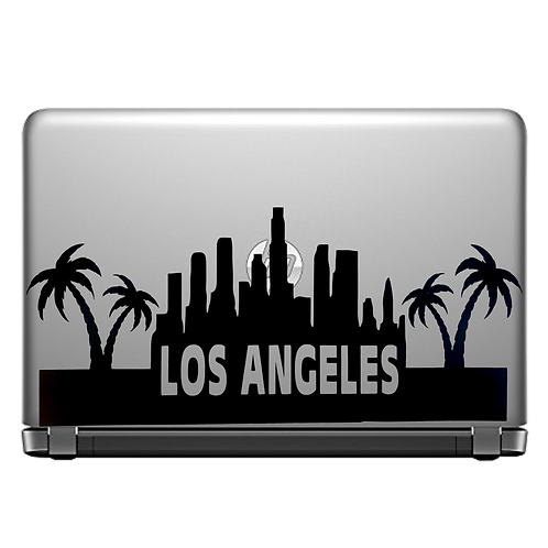 Los Angeles Laptop Decal