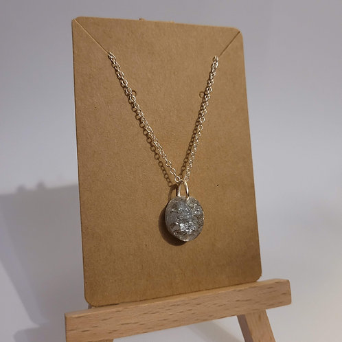 Dainty Silver Pendant Necklace